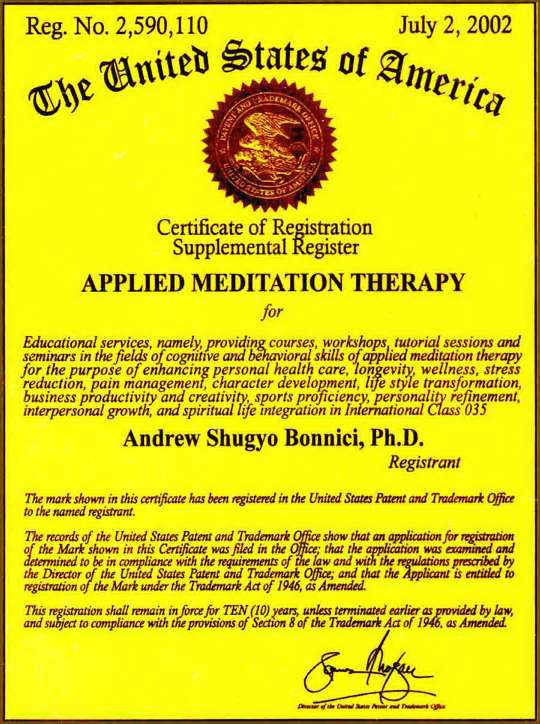 Applied Meditation Therapy