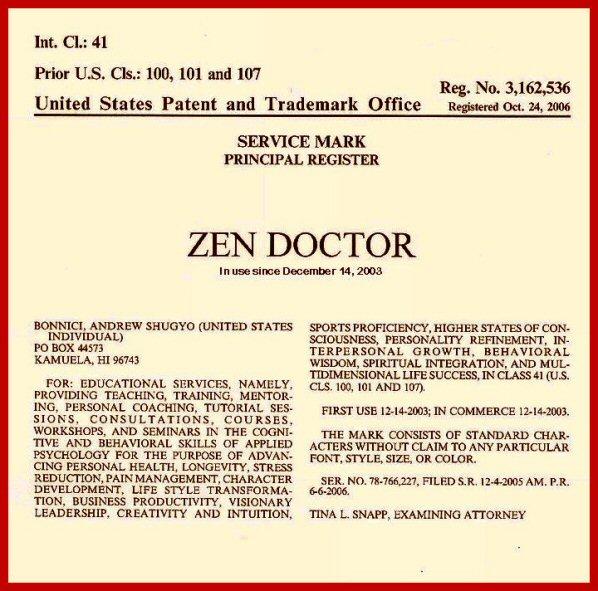 Zen Doctor Trademark